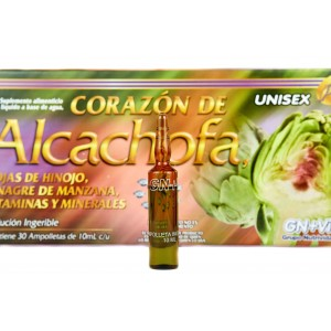 30 Day Artichoke Liquid Supplement by GN+Vida