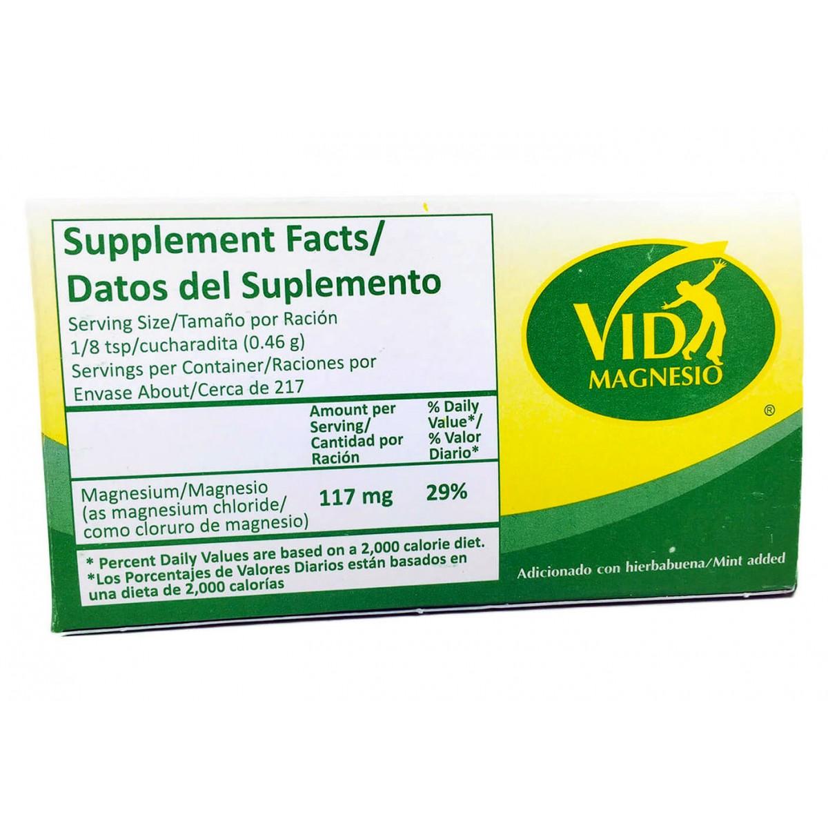 Cloruro de Magnesio en USA 100% Puro solo $6.89 o menos